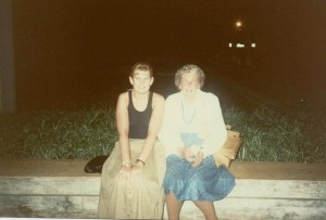 Heather and Nana 1988